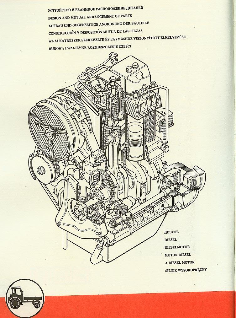 Т-16 / Дизель - устройство и