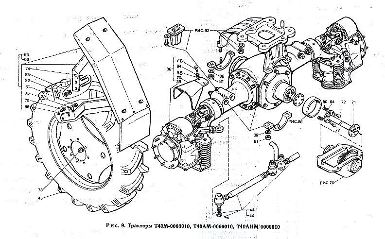 Т-40 / Тракторы Т-40М
