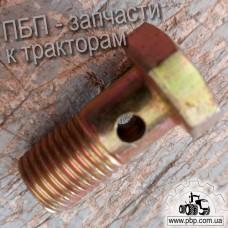 Штуцер топливный под одно отверстие диаметр 14 мм
