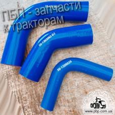 Комплект патрубков радиатора (силикон) к трактору МТЗ