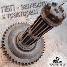 Вал вторичный с гайкой 50-1701252 к трактору МТЗ