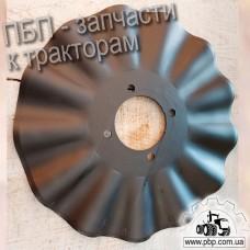 Диск волнистый турбодиск (TATU, Brazil) 820-082C к сеялке GREAT PLAINS