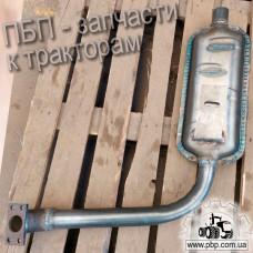 Глушитель СШ20.19.054 к трактору Т-16