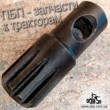 Переходник шлицевой насоса дозатора к тракторам Т-16, Т-40, Т-150, МТЗ, ЮМЗ