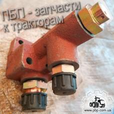 Клапан потока со штуцерами Т30-3405190 к трактору Т-40